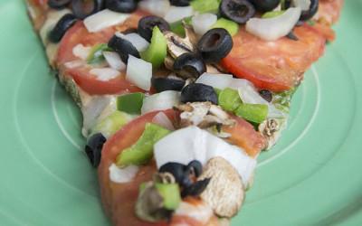 NEW Carmine's Veggie Pizza!