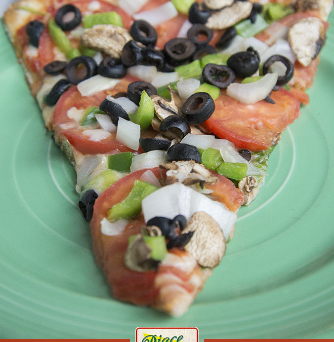 NEW Carmine's Veggie Pizza!